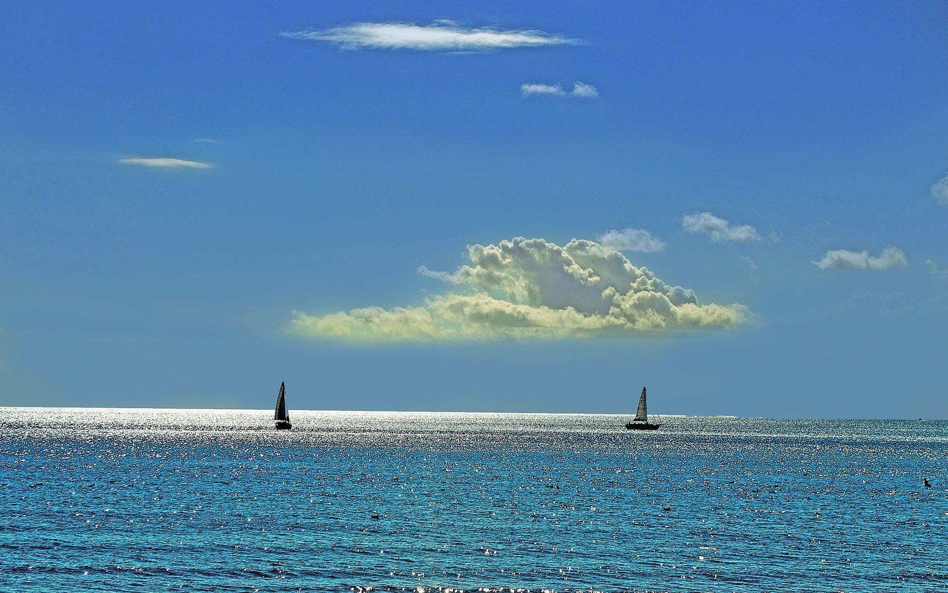 Praxis am See - Segelboote